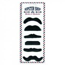 Moustaches adhésives (x6)