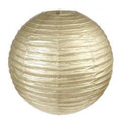 Lanternes métallisées Or (x2)