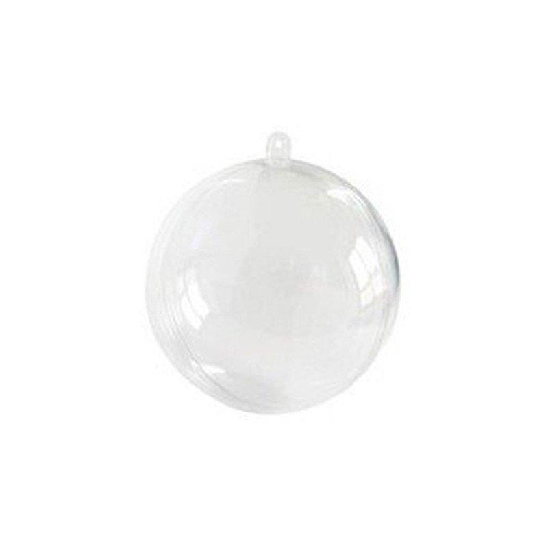Petite boule transparente - 3cm  (x10)