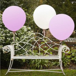 Ballons xl rose (x3)