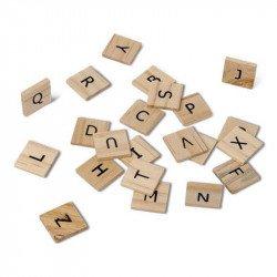 Lettres alphabet bois (x60)