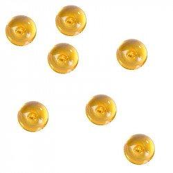 Perles de pluie (x300) - Orange