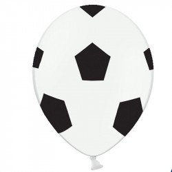 "Ballons latex ""Ballons de foot"" (x5)"