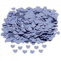 Confettis petits coeurs - Lilas