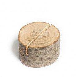 Marque-places rondins de bois (x9)