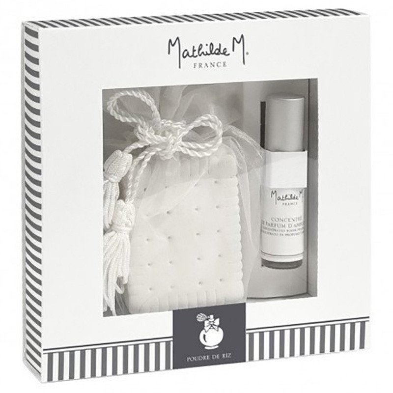 Coffret décor parfumé Mathilde M
