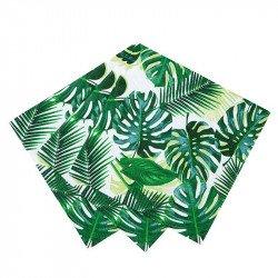 """Serviettes """"Feuilles Tropicales"""" (x20)"""