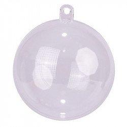 Boules transparentes - 4 cm (x6) - Transparent