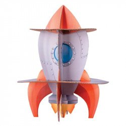 Présentoir à gâteaux Fusée & Astronaute