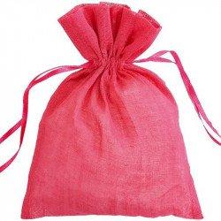 Sachets coton (x6) - Fuchsia