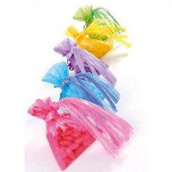 Sachet organdi multicolore