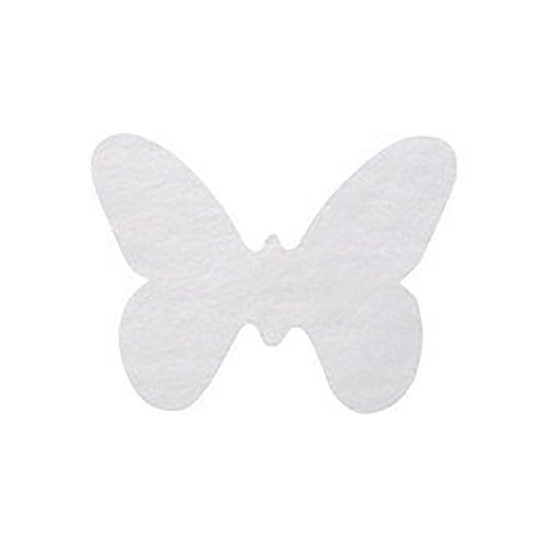 Confettis Papillon Blanc