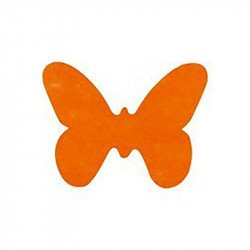 Confettis papillons (x12) - Orange