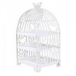 Présentoir cage à oiseaux 3 étages