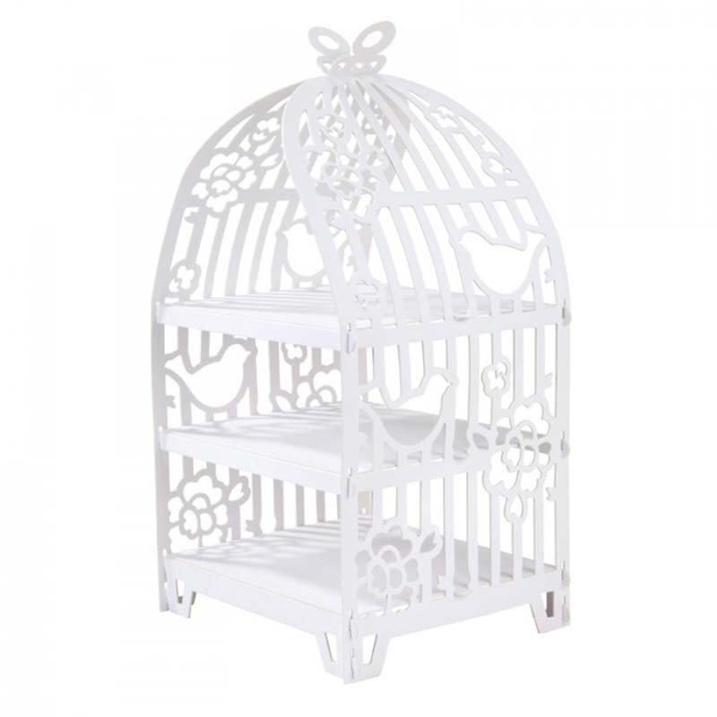 Cage à oiseaux 3 étages