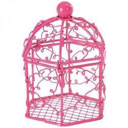 Bonbonnières cage (x2) - Fuchsia