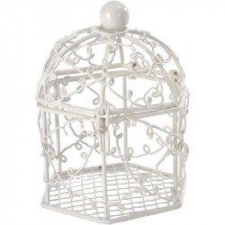 Bonbonnières cage (x2) - Blanc