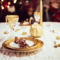 Décorations de table jour de l'an