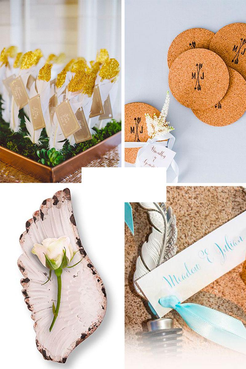 Cadeau invités mariage bohème