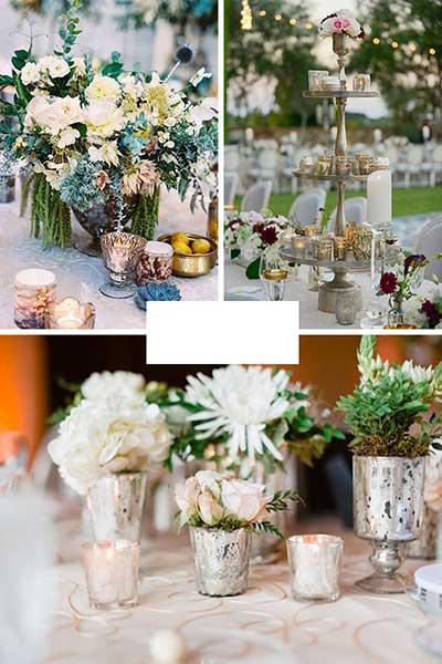 Décoration de table de mariage élégante