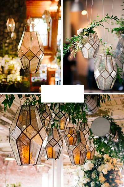 Lanterne originales mercurisées pour tous vos décos de fêtes