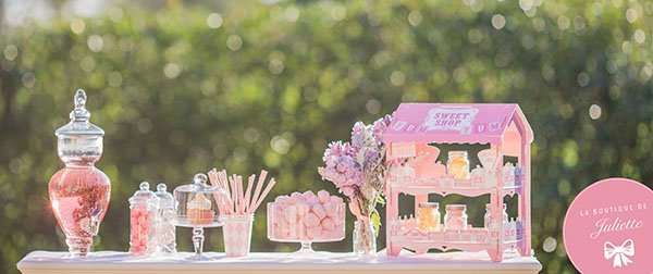 Candy bar mariage anniversaire bapteme bar a bonbon mariage - Idee paquet bonbon pour anniversaire ...