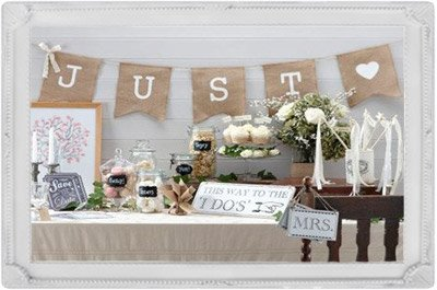 illustration candy bar decoration accessoires