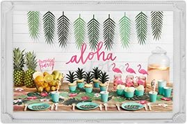 illustration theme fiesta tropicale