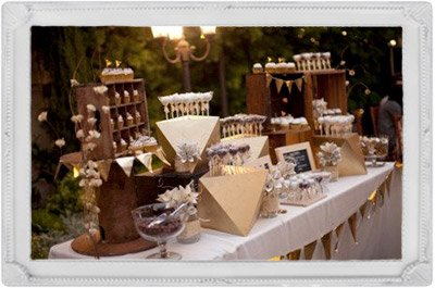 illustration candy bar présentoir et supports