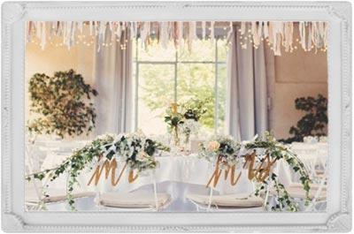 presentation décoration de salle mariage
